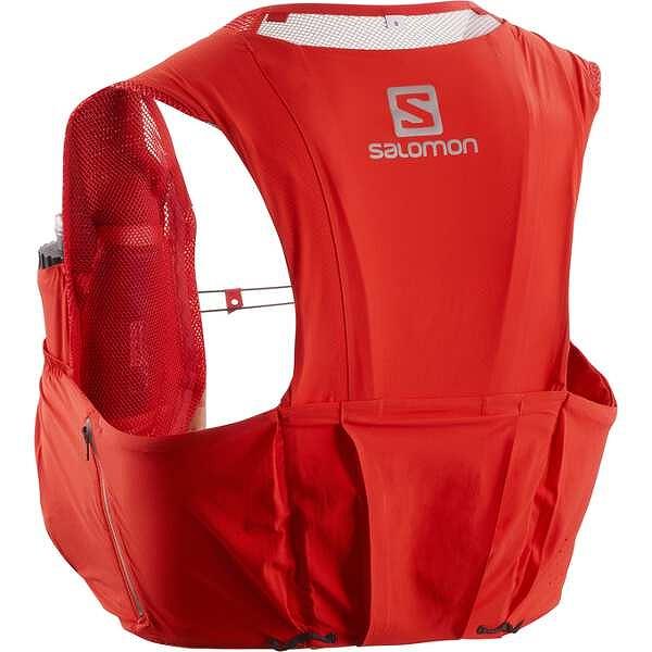 【サロモン】 S/LAB SENSE ULTRA 8 SET トレランバックパック [サイズ:L] [カラー:レーシングレッド] #L40169900 【スポーツ・アウトドア:アウトドア:バッグ:バックパック・リュック】