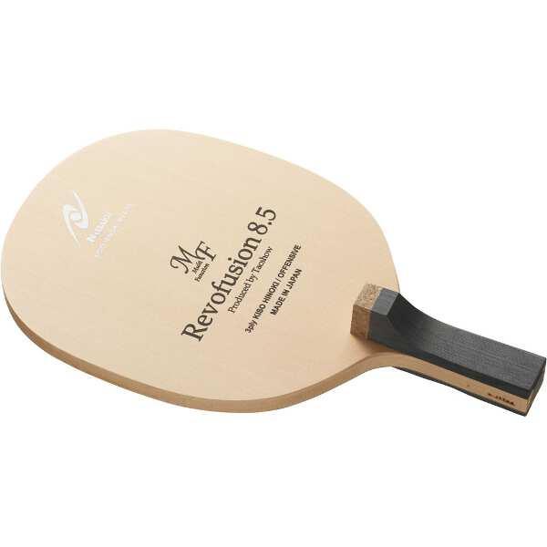 【ニッタク】 レボフュージョン8.5 MF R 角丸型 卓球ラケット #NE-6414 【スポーツ・アウトドア:卓球:ラケット】