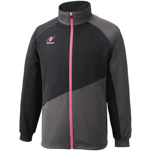【ニッタク】 トレーニングSLシャツ(ユニセックス) [サイズ:L] [カラー:ピンク] #NW-2854-21 【スポーツ・アウトドア:卓球:ウェア:メンズウェア:シャツ】