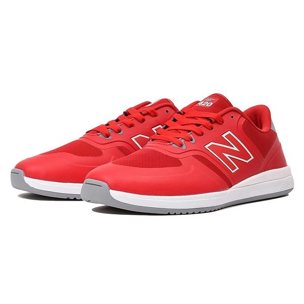 【ニューバランス】 ニューバランス ヌメリック NM420RED [サイズ:26cm (US8) Dワイズ] [カラー:レッド] 【靴:メンズ靴:スニーカー】