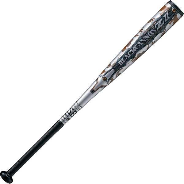 【ゼット】 少年軟式野球FRP製バット BLACKCANNON Z2(ブラックキャノン Z2) 80cm620g平均(限定カラー) [カラー:シルバー] #BCT75880-1300 【スポーツ・アウトドア:その他雑貨】
