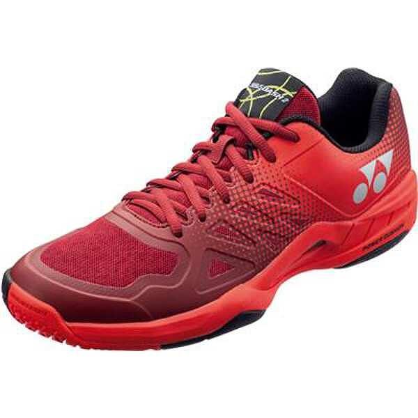【ヨネックス】 パワークッション エアラスダッシュ2 GC テニスシューズ [サイズ:27.5cm] [カラー:レッド] #SHTAD2GC-001 【スポーツ・アウトドア:その他雑貨】