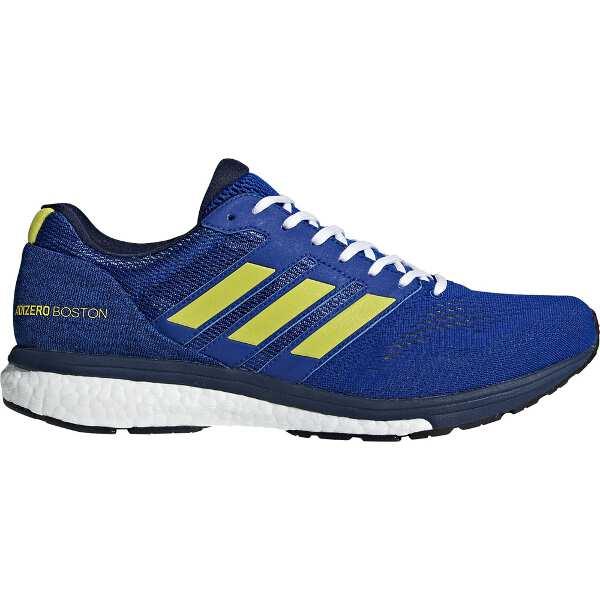 【アディダス】 アディゼロ ボストン 3 M [サイズ:27.5cm] [カラー:カレッジロイヤル×ショックイエロー] #BB6537 【スポーツ・アウトドア:ジョギング・マラソン:シューズ:メンズシューズ】