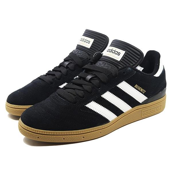 【アディダス】 アディダス スケートボーディング ブセニッツ [サイズ:28cm(US10)] [カラー:ブラック×ホワイト×ゴールド] #G48060 【靴:メンズ靴:スニーカー】【G48060】