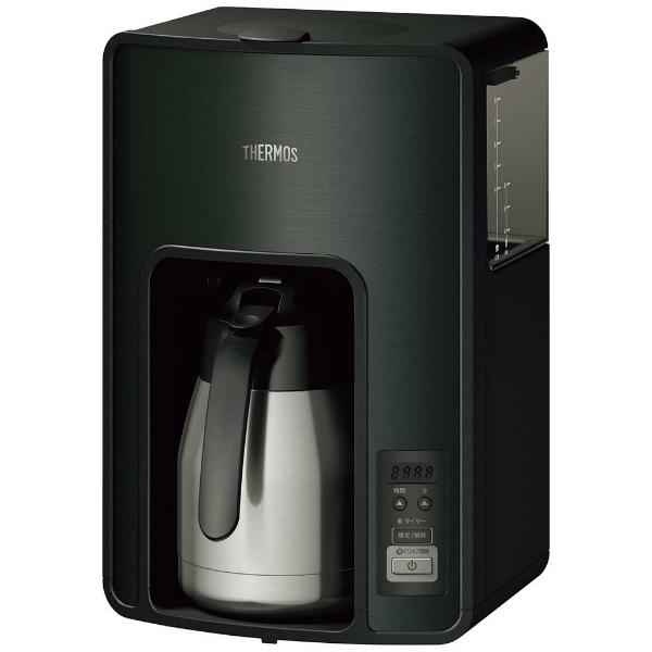【サーモス】 サーモス 真空断熱ポット コーヒーメーカ― ECH-1001(BK) 【キッチン用品:キッチン家電:メーカー・ジューサー・プロセッサー:コーヒーメーカー:ステンレスタイプ:サーモス】