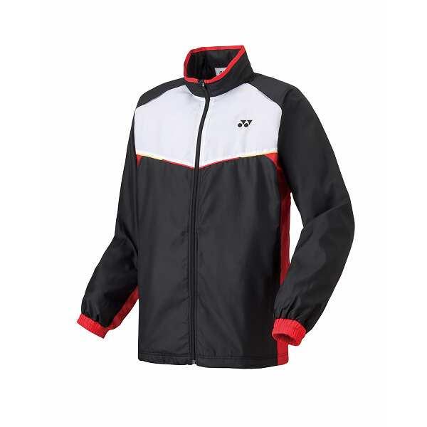 【ヨネックス】 ユニ ウインドウォーマーシャツ [サイズ:SS] [カラー:ブラック] #70058-007 【スポーツ・アウトドア:スポーツウェア・アクセサリー:ウインドブレーカー:メンズウインドブレーカー:アウター】