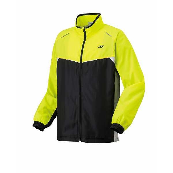 【ヨネックス】 ユニ ウインドウォーマーシャツ [サイズ:XO] [カラー:ブラック×アシッドイエロー] #70058-608 【スポーツ・アウトドア:スポーツウェア・アクセサリー:ウインドブレーカー:メンズウインドブレーカー:アウター】