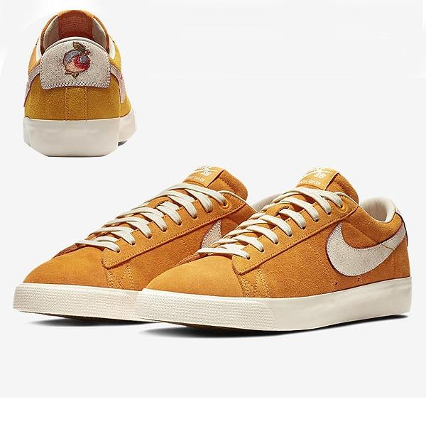 【ナイキ】 ナイキSB ブレザ― LOW GT QS [サイズ:26.5cm(US8.5)] [カラー:サーキットオレンジ×ナチュラル] #716890-816 【靴:メンズ靴:スニーカー】【716890-816】