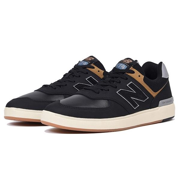 【ニューバランス】 ニューバランス ヌメリック AM574BLB [サイズ:28cm (US10) Dワイズ] [カラー:ブラック] 【靴:メンズ靴:スニーカー】