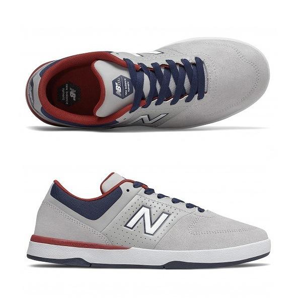 【ニューバランス】 ニューバランス ヌメリック NM533SS2 [サイズ:27.5cm (US9.5) Dワイズ] [カラー:グレー×ネイビー×レッド] 【靴:メンズ靴:スニーカー】