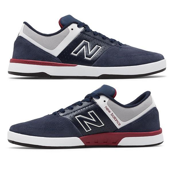 【ニューバランス】 ニューバランス ヌメリック NM533NR2 [サイズ:27.5cm (US9.5) Dワイズ] [カラー:ネイビー×レッド] 【靴:メンズ靴:スニーカー】