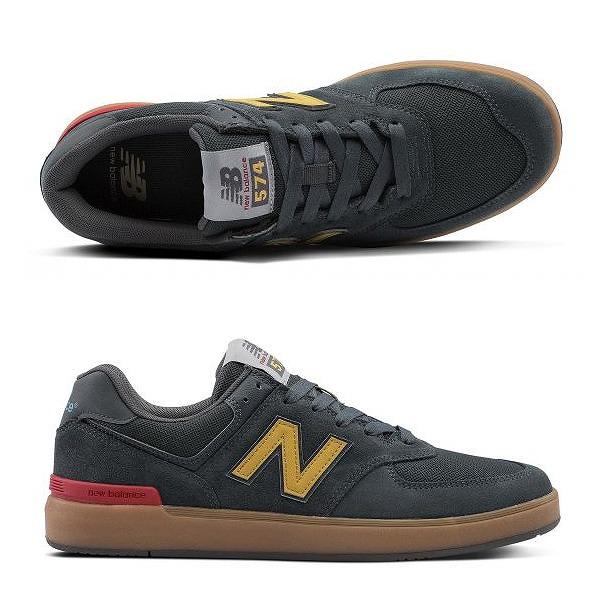 【ニューバランス】 ニューバランス ヌメリック AM574TNS [サイズ:27.5cm (US9.5) Dワイズ] [カラー:チャコール] 【靴:メンズ靴:スニーカー】