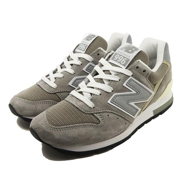 【ニューバランス】 ニューバランス M996 [カラー:グレー] [サイズ:24.5cm (US6.5) Dワイズ] 【靴:メンズ靴:スニーカー】【M996】