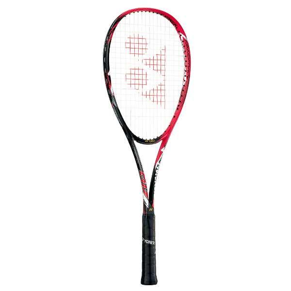 【ヨネックス】 ソフトテニスラケット ナノフォース 8Vレブ(ガットなし) [サイズ:UL2] [カラー:フレイムレッド] #NF8VR-596 【スポーツ・アウトドア:テニス:ラケット】