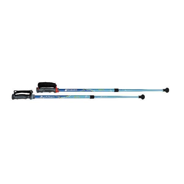 【シナノ】 ポールウォーキング レビータ ファイテン 3Sモデル [使用サイズ:85~120cm] [カラー:ブルー] #116325 【スポーツ・アウトドア:フィットネス・トレーニング:スポーツ器具】