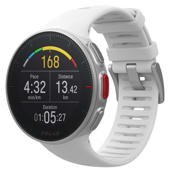 【ポラール】 Vantage V(バンテージV) 国内正規品 手首心拍・パワー計測搭載GPSウォッチ [カラー:ホワイト] #90070735 【スポーツ・アウトドア:アウトドア:精密機器類:GPS:GPS本体】