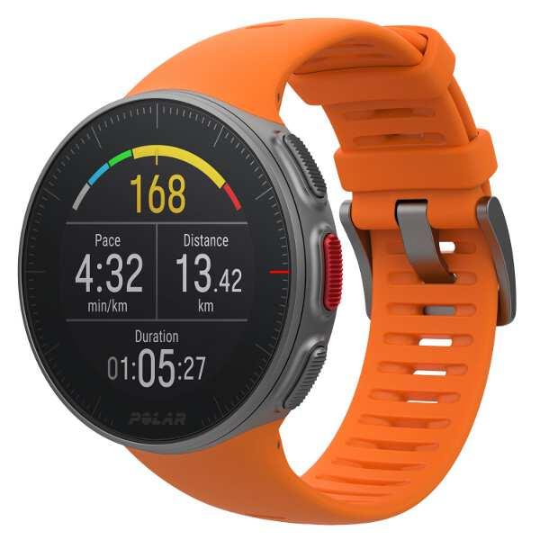 【ポラール】 Vantage V(バンテージV) 国内正規品 手首心拍・パワー計測搭載GPSウォッチ [カラー:オレンジ] #90070737 【スポーツ・アウトドア:アウトドア:精密機器類:GPS:GPS本体】