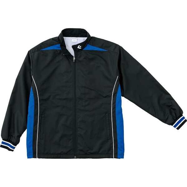 【コンバース】 ウォームアップジャケット(裾ボックスタイプ) [サイズ:M] [カラー:ブラック×ロイヤルブルー] #CB182500S-1925 【スポーツ・アウトドア:スポーツウェア・アクセサリー:ウインドブレーカー:メンズウインドブレーカー:アウター】