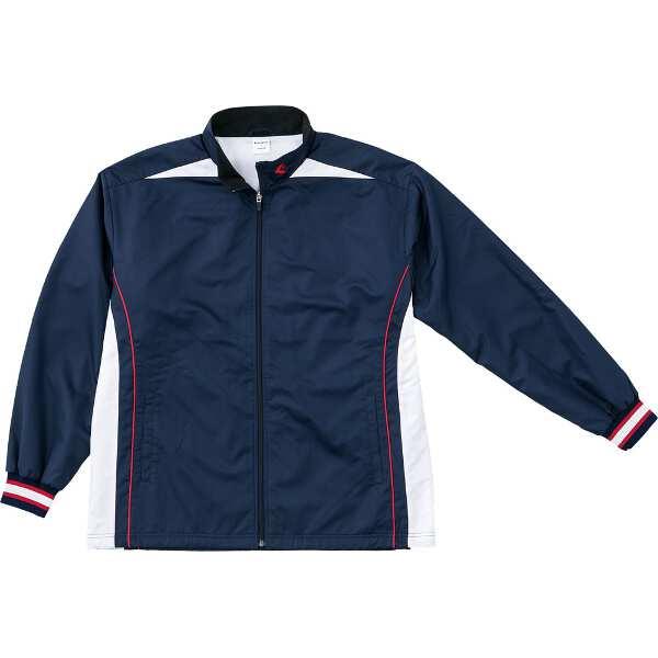 【コンバース】 ウォームアップジャケット(裾ボックスタイプ) [サイズ:L] [カラー:ネイビー×ホワイト] #CB182500S-2911 【スポーツ・アウトドア:スポーツウェア・アクセサリー:ウインドブレーカー:メンズウインドブレーカー:アウター】