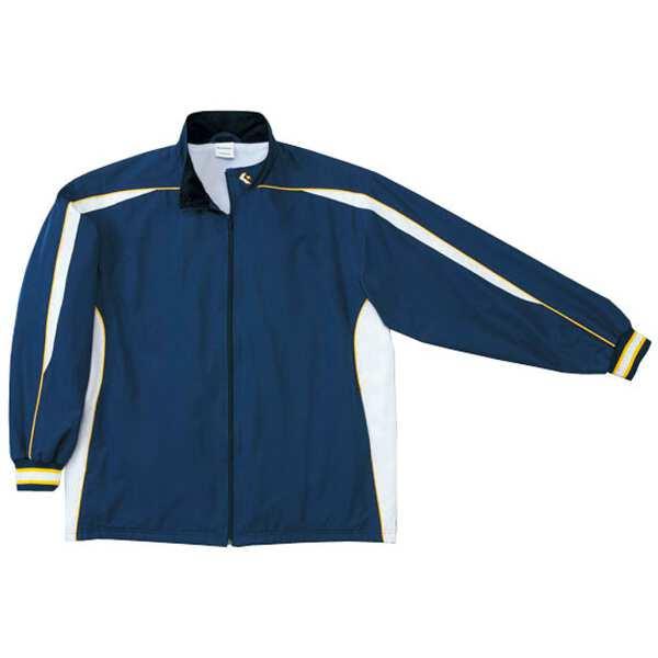 【コンバース】 ウォームアップジャケット(裾ボックスタイプ) [サイズ:S] [カラー:ネイビー×ホワイト] #CB182501S-2911 【スポーツ・アウトドア:スポーツウェア・アクセサリー:ウインドブレーカー:メンズウインドブレーカー:アウター】