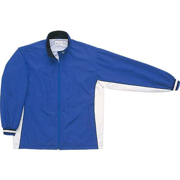 【コンバース】 ウォームアップジャケット(前ファスナー・裾ボックスタイプ) [サイズ:O] [カラー:ロイヤルブルー×ホワイト] #CB182102S-2511 【スポーツ・アウトドア:スポーツウェア・アクセサリー:ウインドブレーカー:メンズウインドブレーカー:アウター】
