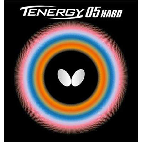 【バタフライ】 テナジー・05・ハード 卓球ラバ― [カラー:レッド] [サイズ:特厚] #06030-006 【スポーツ・アウトドア:卓球:卓球用ラバー】