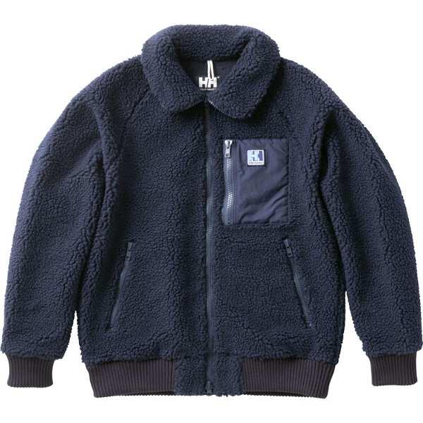【ヘリーハンセン】 ファイバーパイルサーモジャケット(メンズ) [サイズ:L] [カラー:ネイビー] #HO51853-N 【スポーツ・アウトドア:アウトドア:ウェア:メンズウェア:アウター】