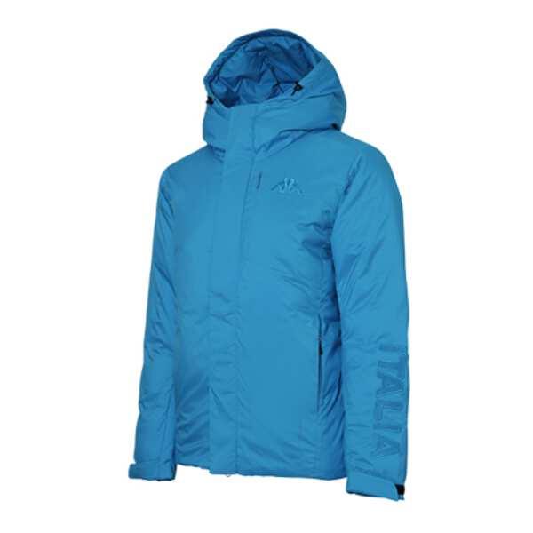 【カッパ】 EROI ダウンジャケット [サイズ:O] [カラー:イタリアンブルー] #KL752OT10-ITB 【スポーツ・アウトドア:アウトドア:ウェア:メンズウェア:アウター】