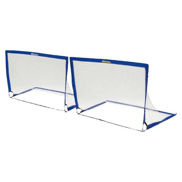 【ミカサ】 サッカーゴール ポップアップゴール(2台1組) #GPU 【スポーツ・アウトドア:サッカー・フットサル:サッカー:ゴール】