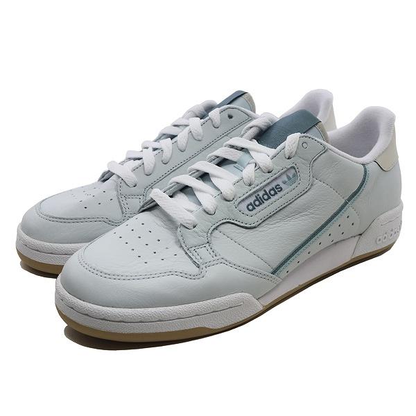 【5%off+最大3000円offクーポン(要獲得) 5/19 9:59まで】 【送料無料】 アディダス コンチネンタル 80 [サイズ:27.5cm(US9.5)] [カラー:BLUTIN×RAEGRN×TACGRN] #EE7048 【アディダス: 靴 メンズ靴 スニーカー】【ADIDAS adidas CONTINENTAL 80】