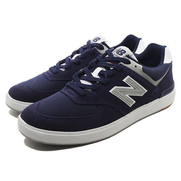 【ニューバランス】 ニューバランス ヌメリック AM574NYR [サイズ:27.5cm (US9.5) Dワイズ] [カラー:ネイビー] 【靴:メンズ靴:スニーカー】