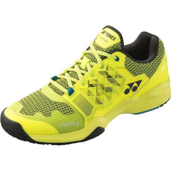 【ヨネックス】 パワークッション ソニケージM AC テニスシューズ [サイズ:25.5cm] [カラー:ライムイエロー] #SHTSMAC-500 【スポーツ・アウトドア:テニス:競技用シューズ:メンズ競技用シューズ】