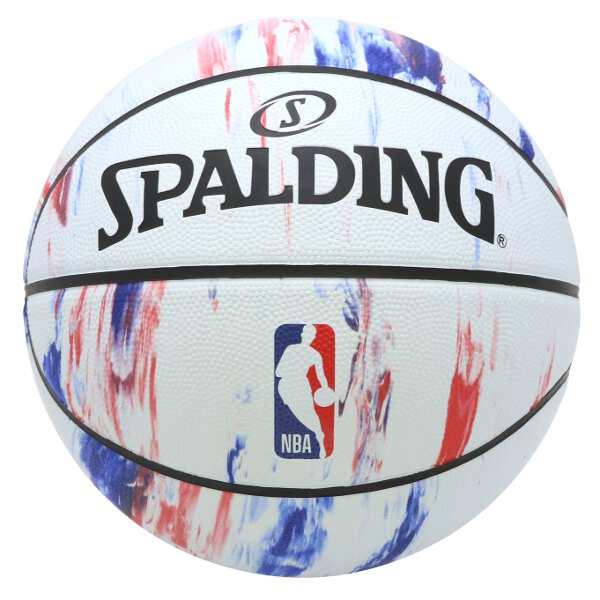 【500円offクーポン(要獲得) 3/25 9:59まで】 NBAロゴ マーブル バスケットボール 7号球 #83-934J [あす楽] 【スポルディング: スポーツ・アウトドア バスケットボール ボール】【SPALDING】