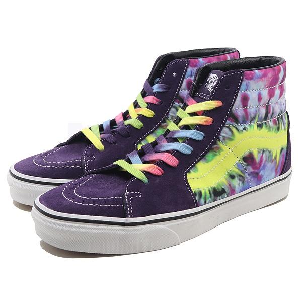 【バンズ】 バンズ スケート ハイ (Tie Dye) [サイズ:27cm(US9)] [カラー:タイダイ] #VN0A38GEVMO 【靴:メンズ靴:スニーカー】【VN0A38GEVMO】