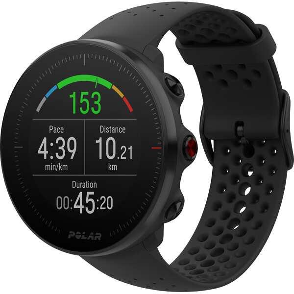 【ポラール】 Vantage M(バンテージM) 日本正規品 手首心拍計測搭載GPSウォッチ [カラー:ブラック] [バンドサイズ:S/M] #90069739 【スポーツ・アウトドア:ジョギング・マラソン:GPS】