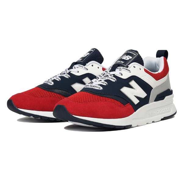 【ニューバランス】 CM997H [サイズ:23.5cm(D)] [カラー:チームレッド] #CM997HEA 【靴:メンズ靴:スニーカー】