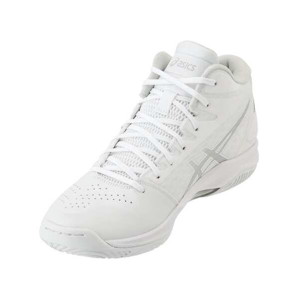 【アシックス】 ゲルフープ V11 スリム バスケットボールシューズ [サイズ:23.5cm] [カラー:ホワイト×シルバー] #1061A013-119 【スポーツ・アウトドア:バスケットボール:競技用シューズ:メンズ競技用シューズ】