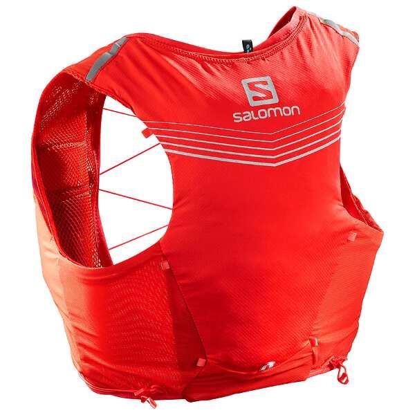 【サロモン】 ADV SKIN 5 SET トレランバックパック [サイズ:L] [カラー:Fレッド] #LC1089400 【スポーツ・アウトドア:アウトドア:バッグ:バックパック・リュック】