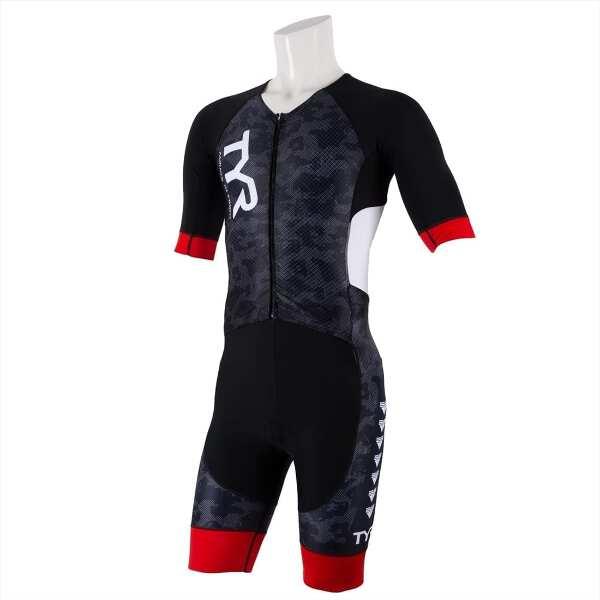【ティア】 メンズ ショートスリーブ アルティメイト トライスーツ [サイズ:M] [カラー:ブラック] #SMLG1-19S 【スポーツ・アウトドア:トライアスロン】