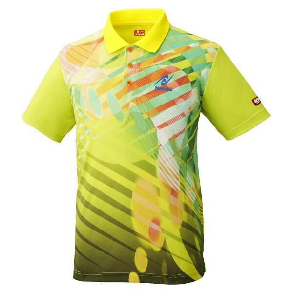【ニッタク】 トロピックシャツ(ユニセックス) [サイズ:L] [カラー:イエロー] #NW-2190-60 【スポーツ・アウトドア:卓球:ウェア:メンズウェア:シャツ】