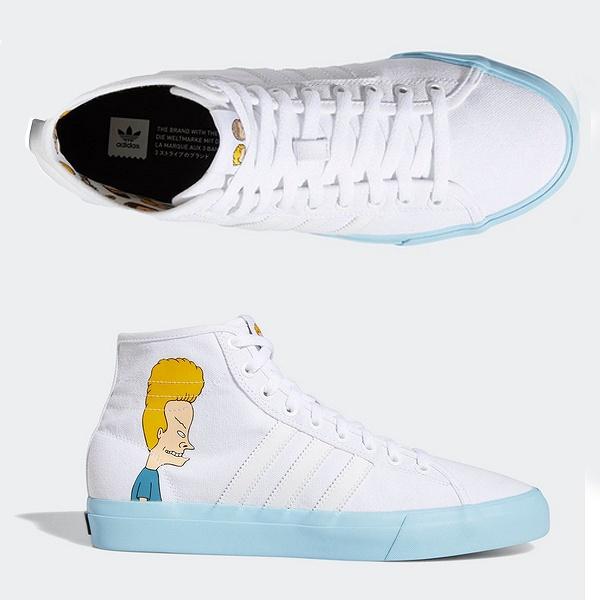 【アディダス】 アディダス スケートボーディング マッチコート ハイ RX X B&BH [サイズ:27cm(US9)] [カラー:ランニングホワイト×アイシーブルー] #DB3379 【靴:メンズ靴:スニーカー】【DB3379】