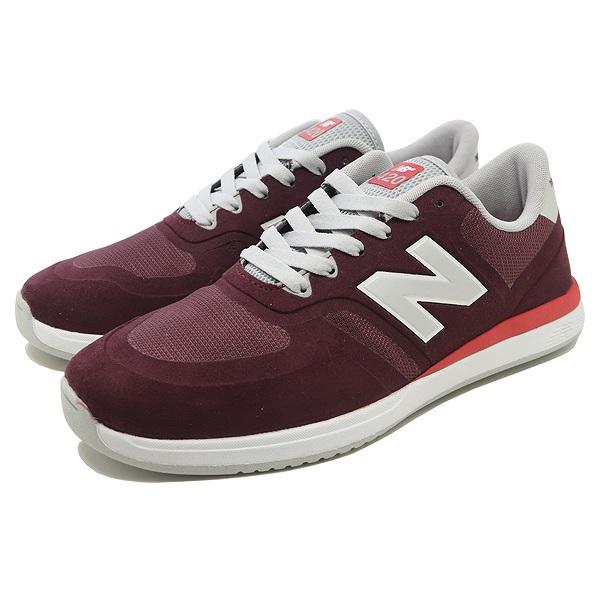 【ニューバランス】 ニューバランス ヌメリック NM420BRD [サイズ:26.5cm (US8.5) Dワイズ] [カラー:バーガンディ×レッド] 【靴:メンズ靴:スニーカー】