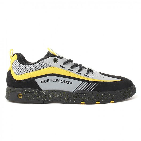 【DC SHOES】 LEGACY 98 SLIM SE [カラー:ブラック×グレー×イエロー] [サイズ:26.5cm (US8.5)] DM192003 XKSY 【靴:メンズ靴:スニーカー】【DM192003】