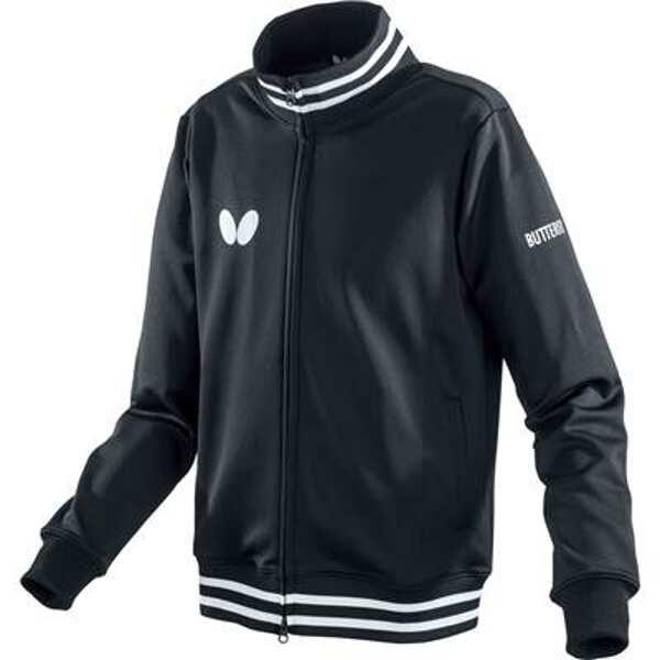 【バタフライ】 ラスネル・ジャケット [サイズ:M] [カラー:ブラック] #45510-278 【スポーツ・アウトドア:卓球:ウェア:メンズウェア】