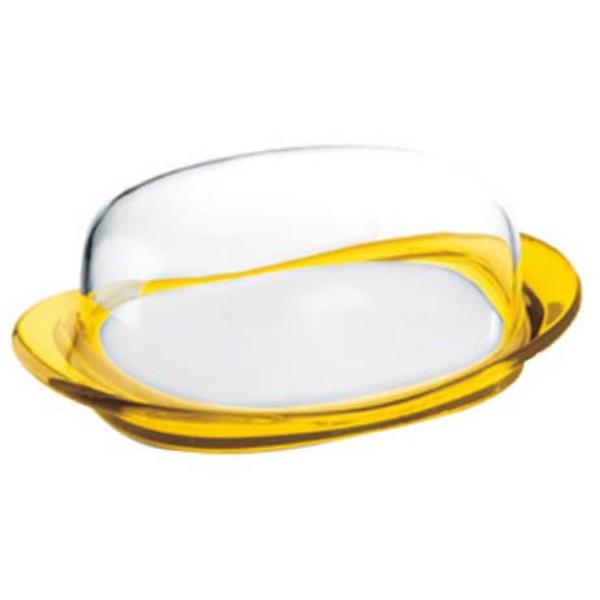 【グッチーニ】 グッチーニ バターディッシュ 224200 88レモンイエロ― 【キッチン用品:容器・ストッカー・調味料入れ:バターケース】
