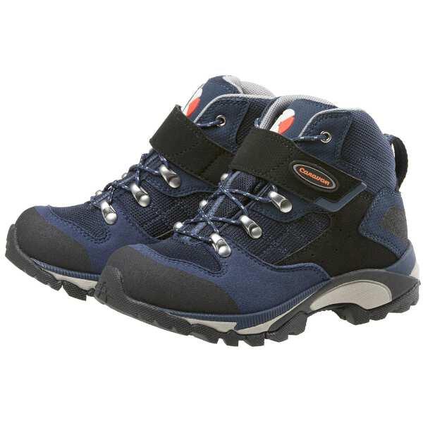 【キャラバン】 C1-JR ジュニア トレッキングシューズ [サイズ:24.0cm] [カラー:STDネイビー] #0010109-671 【スポーツ・アウトドア:登山・トレッキング:靴・ブーツ】