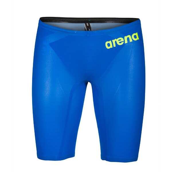 【アリーナ】 POWERSKIN CARBON AIR2 ハーフスパッツ [サイズ:M] [カラー:ブルー×グレイ×イエロー] #FAR-9505M-BUGY 【スポーツ・アウトドア:水泳:競技水着:メンズ競技水着】