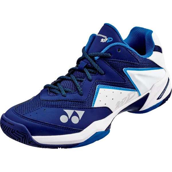【ヨネックス】 パワークッション207D テニスシューズ [サイズ:24.0cm] [カラー:ネイビー×ホワイト] #SHT207D-173 【スポーツ・アウトドア:テニス:競技用シューズ:メンズ競技用シューズ】