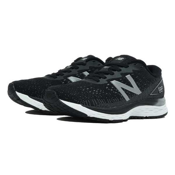 【ニューバランス】 W880 レディース ランニングシューズ [サイズ:24.5cm(2E)] [カラー:ブラック] #W880BK9 【スポーツ・アウトドア:ジョギング・マラソン:シューズ:レディースシューズ】