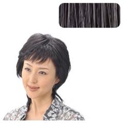 【ソシエ】 部分ウィッグコレクション モアヘアピース #白髪30%入 【ヘアケア:かつら・ウィッグ・エクステ】
